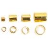 Beadalon Crimp Tube Variety Pack #1-4 Plated Gold